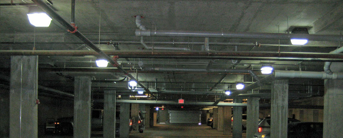 Underground Parkade Lighting Eco Lighting Solutions Calgary